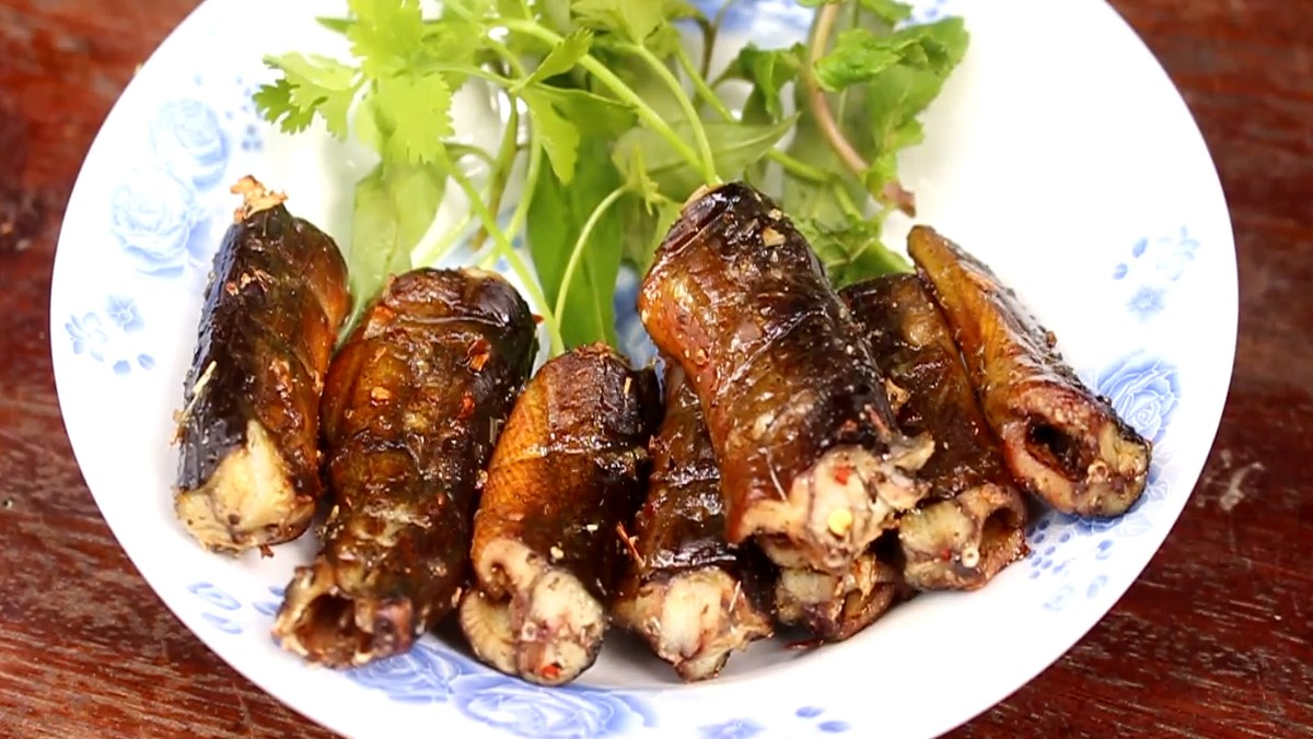 Lươn nướng sa tế