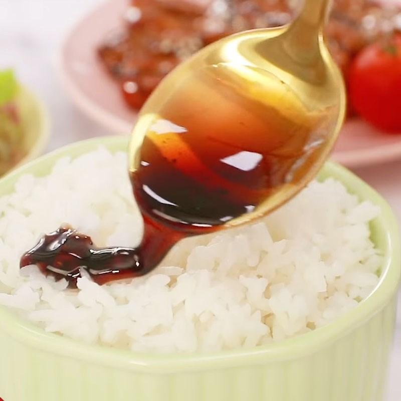 Bước 5 Hoàn thành Cơm lươn Nhật Bản nướng sốt teriyaki