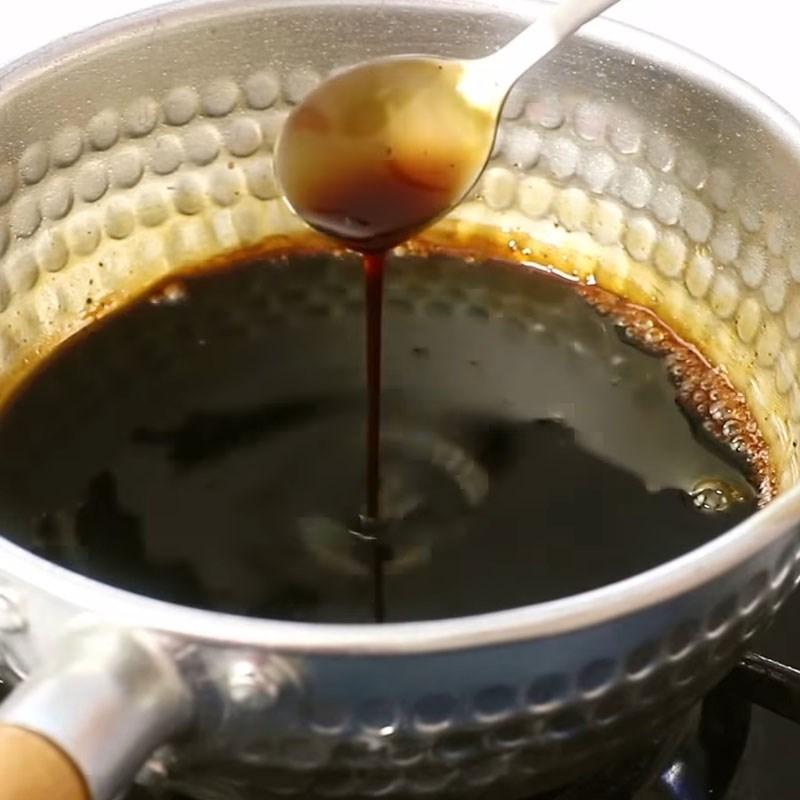 Bước 2 Làm sốt Cơm lươn Nhật Bản nướng sốt teriyaki