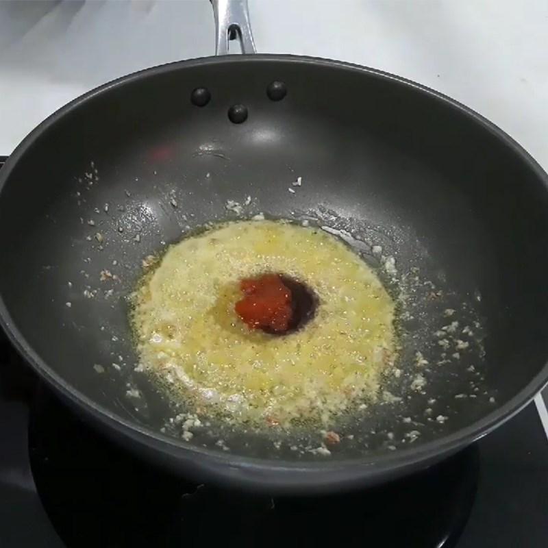 Bước 2 Làm sốt bơ tỏi Vẹm xanh nướng bơ tỏi