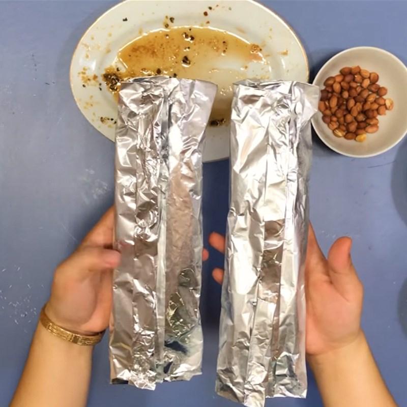 Bước 5 Nướng cá Cá saba nướng giấy bạc mỡ hành