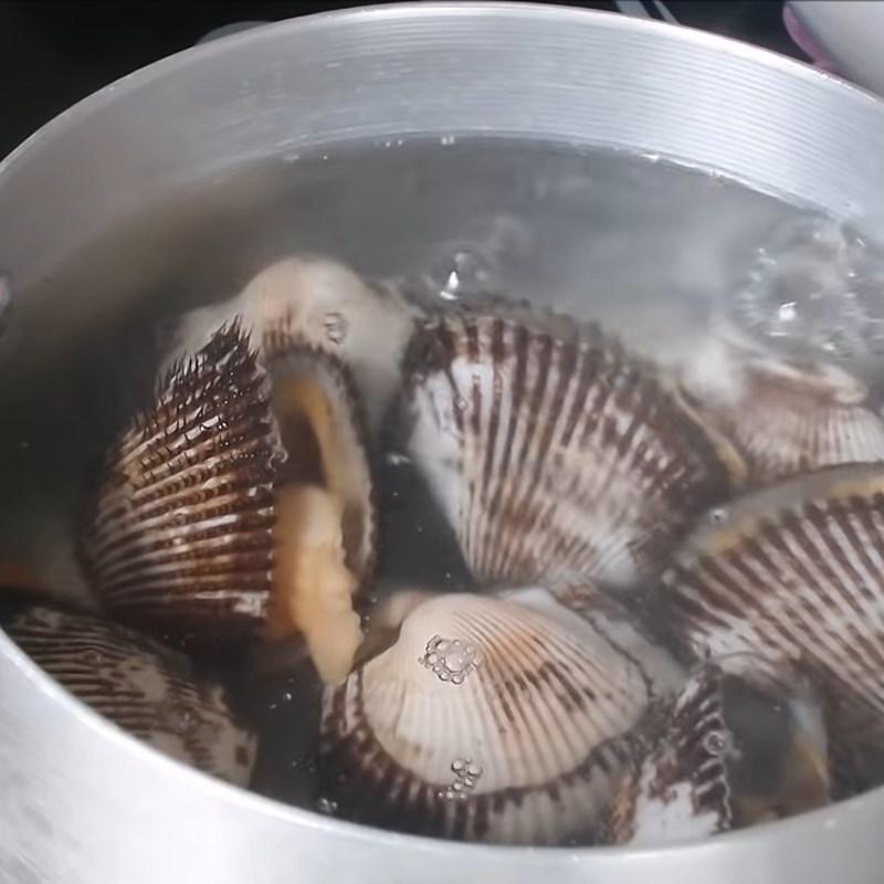 Bước 4 Nướng sò lông Sò lông nướng phô mai