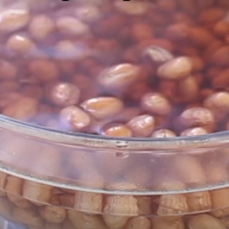 Bước 1 Sơ chế đậu phộng Đậu phộng nướng ngũ vị hương