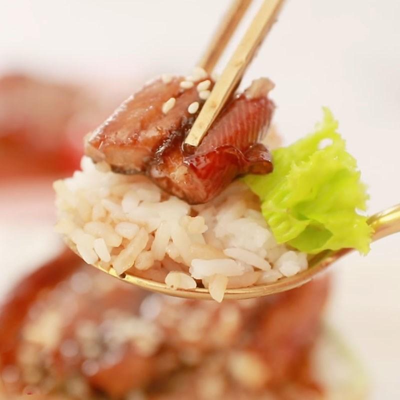 Bước 6 Thành phẩm Cơm lươn Nhật Bản nướng sốt teriyaki