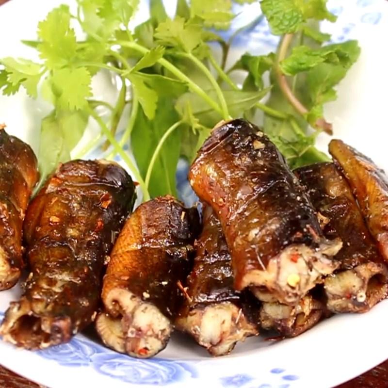 Bước 5 Thành phẩm Lươn nướng sa tế