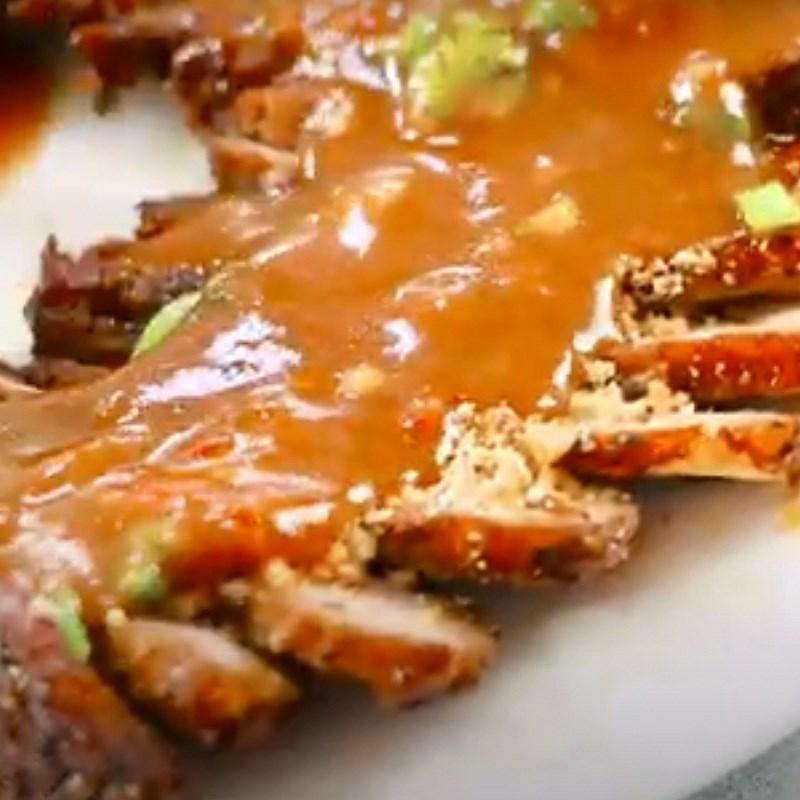 Bước 5 Thành phẩm Thịt nướng kiểu Thái