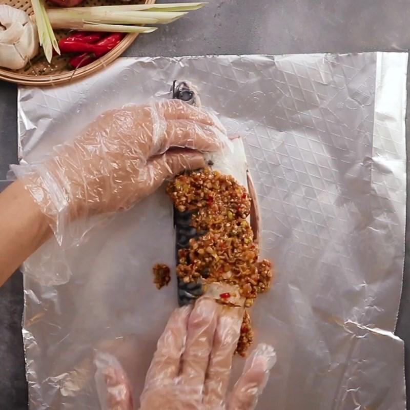 Bước 2 Ướp cá Cá Basa nướng sả ớt