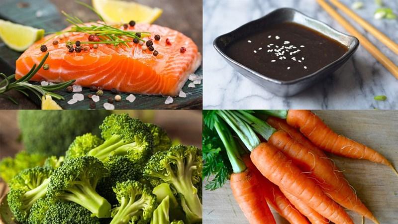 Nguyên liệu món ăn phi lê cá đút lò