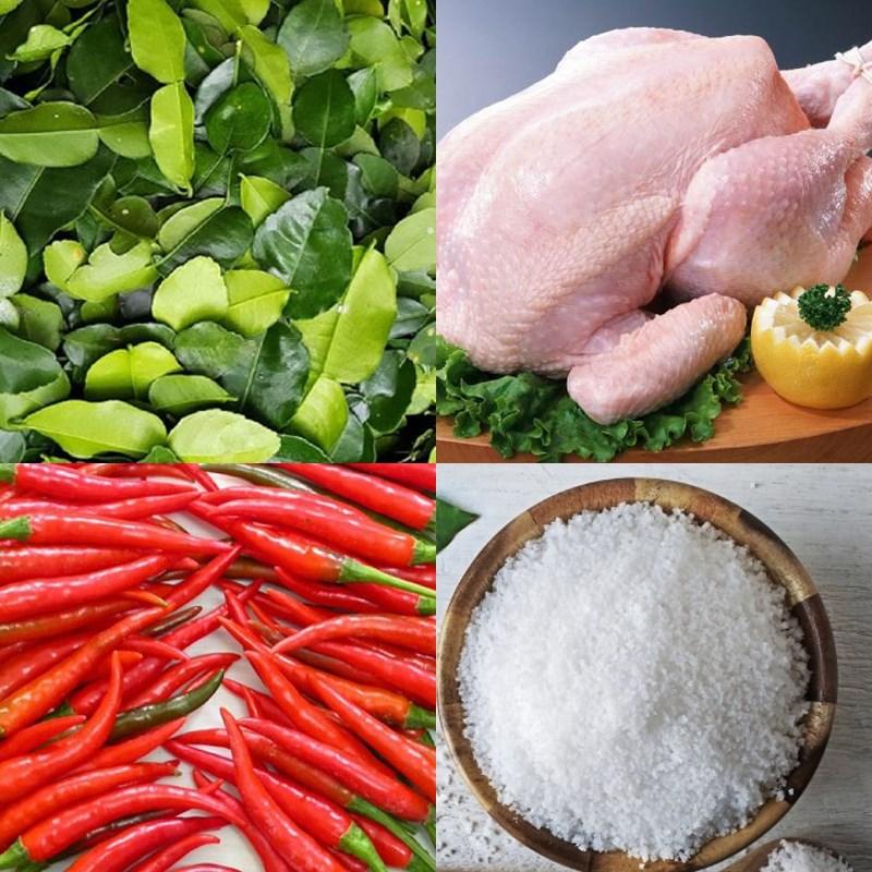 Nguyên liệu món ăn 3 cách nướng gà bằng lò vi sóng