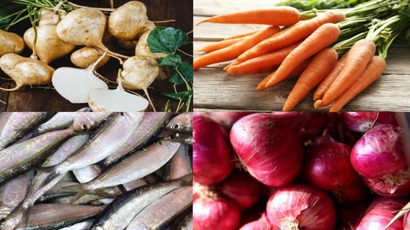Nguyên liệu món ăn chả giò cá trích