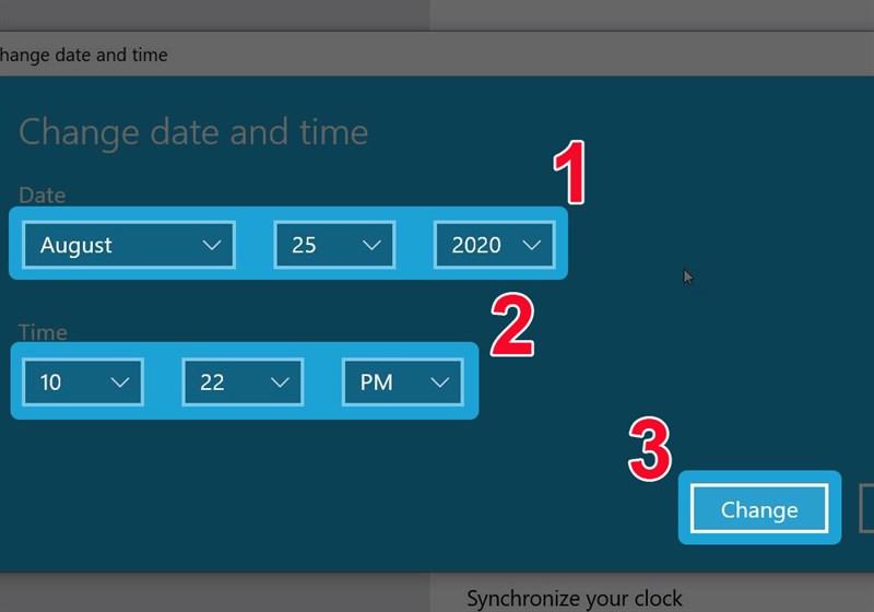 2 Cách chỉnh thời gian, giờ, ngày trên win 10 đơn giản, dễ dàng