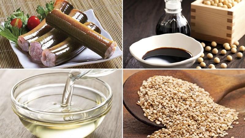 Nguyên liệu món ăn cơm lươn nhật bản