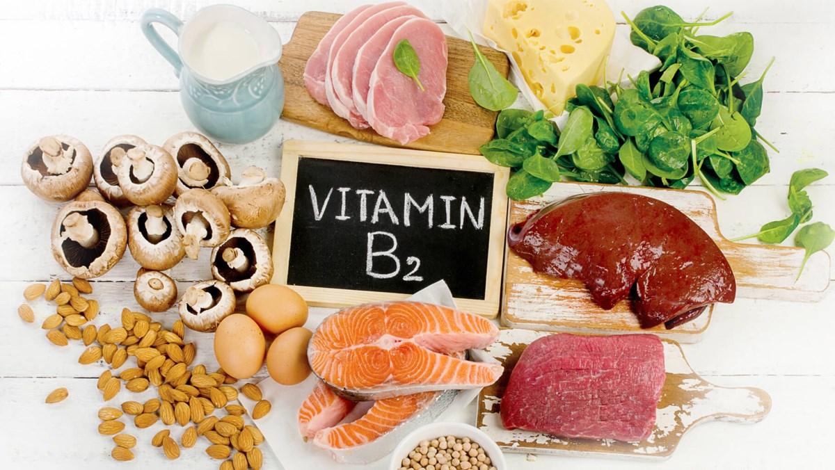 Vitamin B2 là gì, công dụng và các thực phẩm