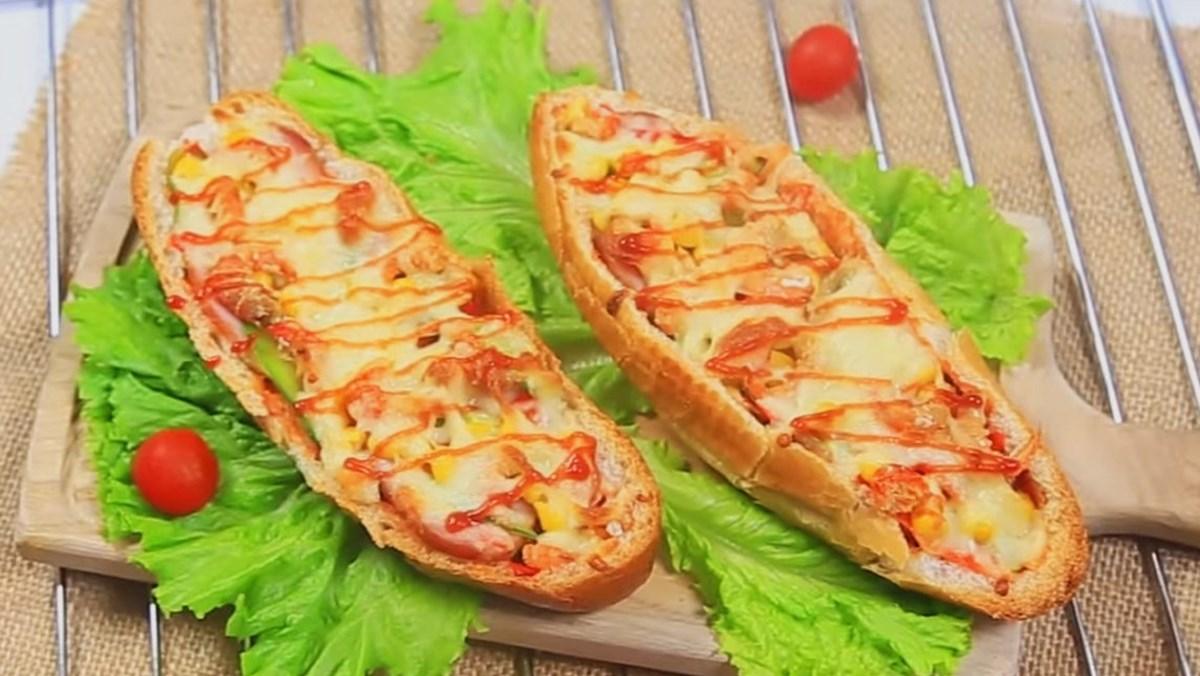 Pizza chiếc thuyền