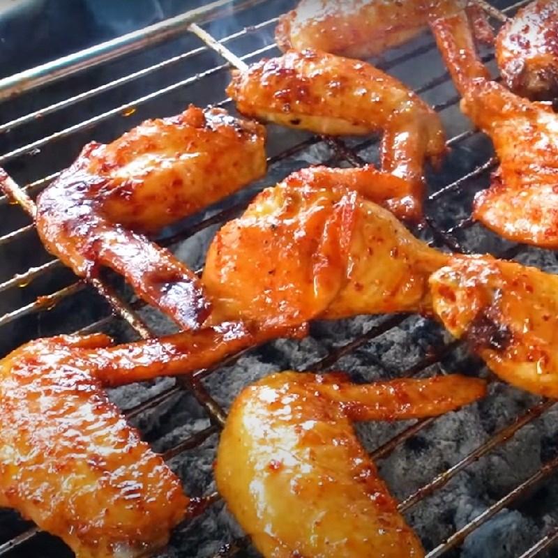 Bước 3 Nướng cánh gà Cánh gà nướng chao