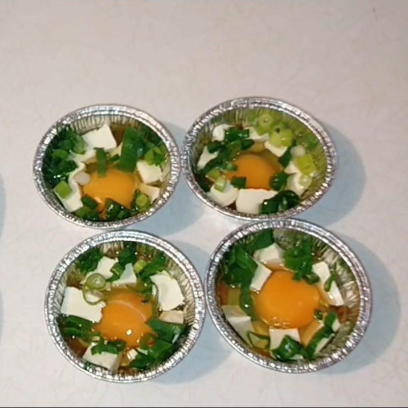 Bước 1 Chuẩn bị trứng nướng Trứng nướng bằng nồi chiên không dầu
