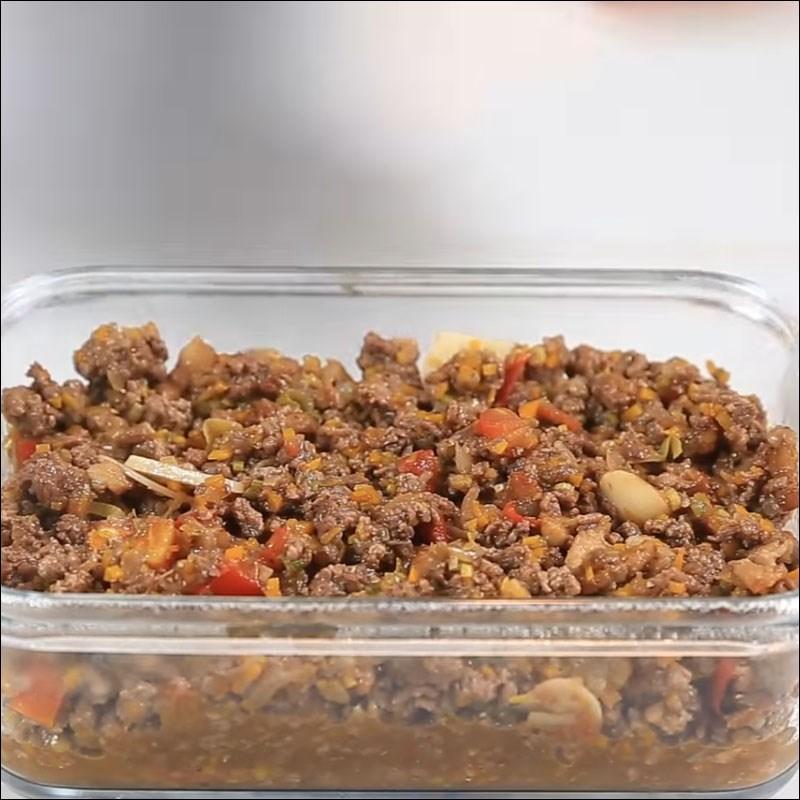 Bước 5 Đút lò khoai tây Khoai tây nghiền nướng sốt vang