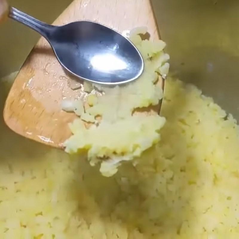 Bước 1 Hầm đậu xanh Bánh trung thu dẻo nhân đậu xanh