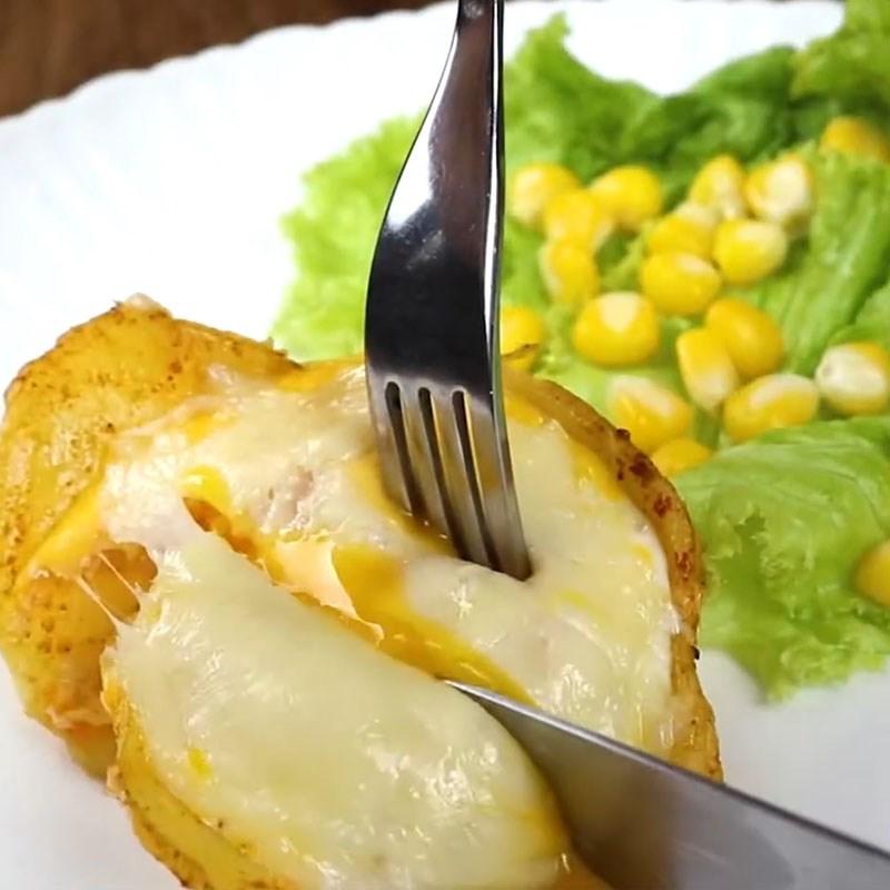 Bước 4 Thành phẩm Khoai tây nướng trứng