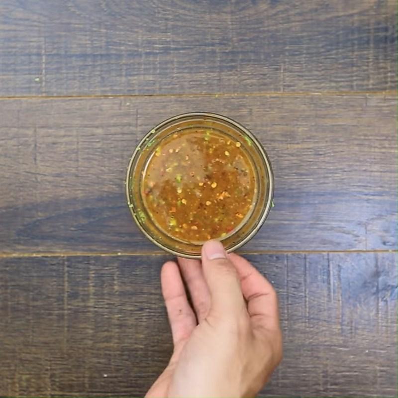 Bước 2 Làm sốt Bắp nướng chanh ớt