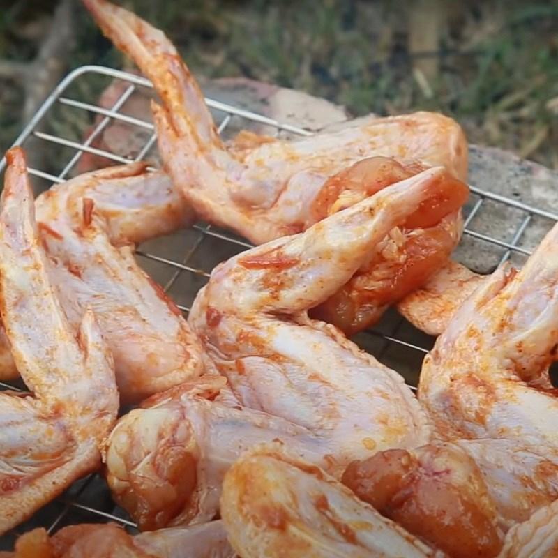 Bước 3 Nướng cánh gà Cánh gà nướng sa tế