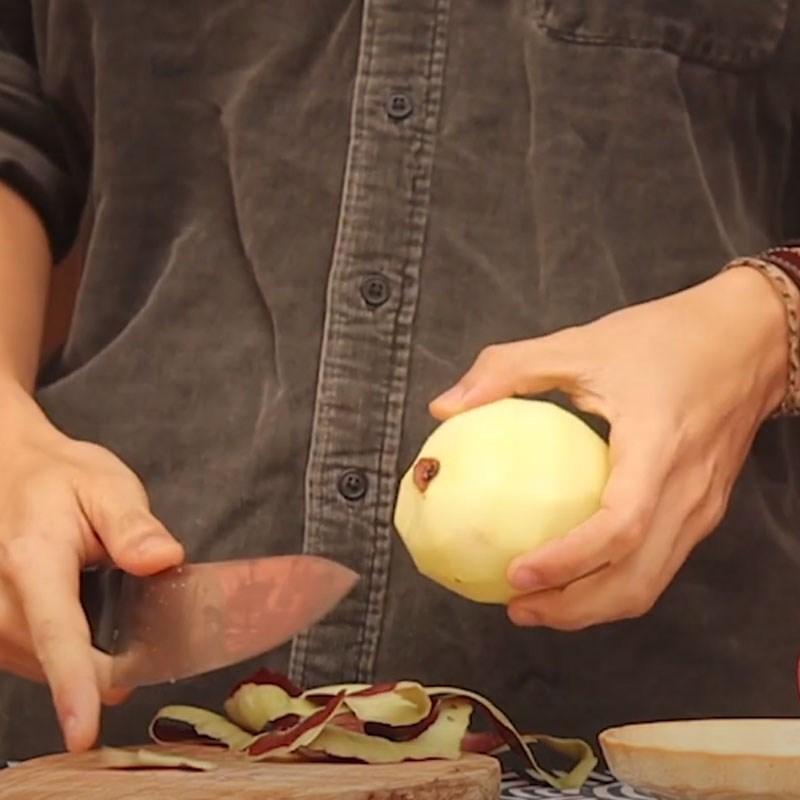 Bước 1 Sơ chế nguyên liệu Sườn cuộn phô mai