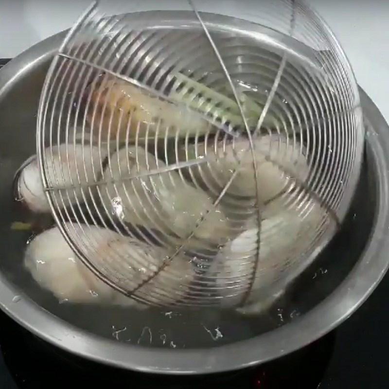 Bước 1 Sơ chế sò dẹo Sò dẹo nướng phô mai