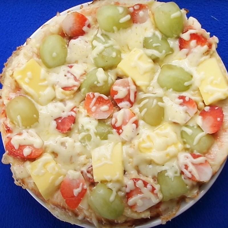 Bước 4 Thành phẩm Pizza trái cây
