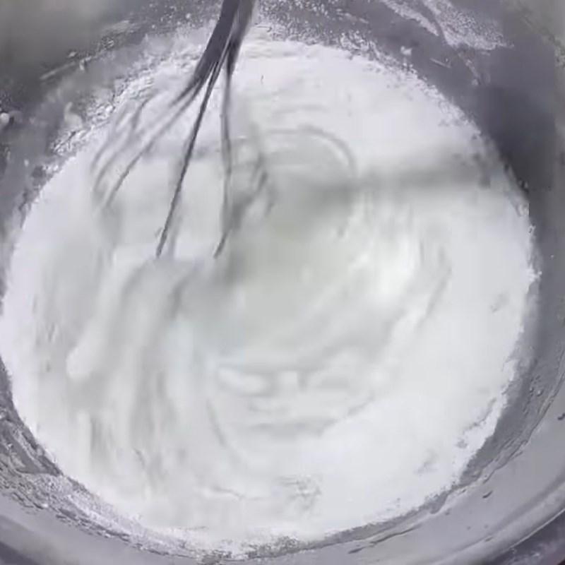 Bước 4 Trộn bột bánh dẻo Bánh trung thu dẻo nhân đậu xanh