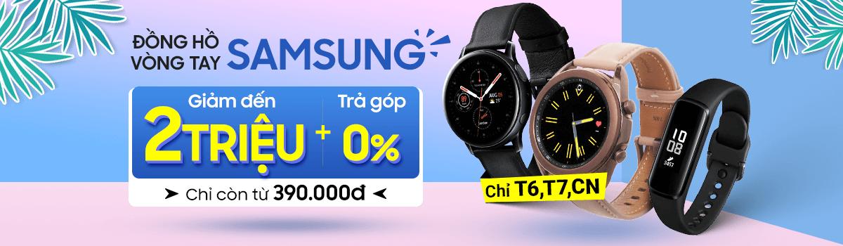 Galaxy Watch3[break]Giảm Đến 2 Triệu