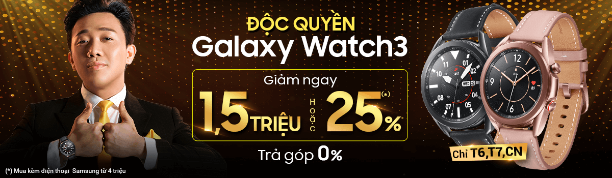 Galaxy Watch3[break]Giảm Ngay 25%