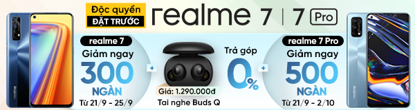 Pre-order Realme 7