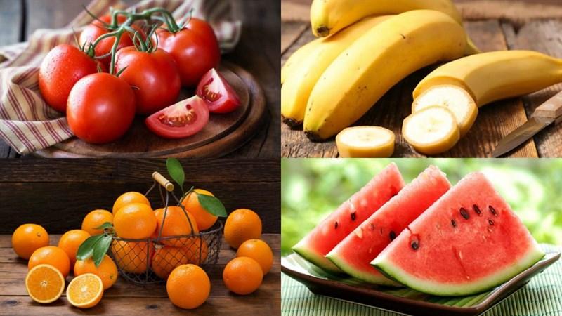 Nguyên liệu món ăn 3 cách làm sinh tố cà chua