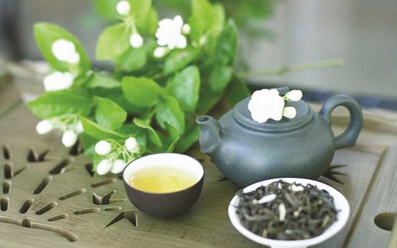 Cách pha trà hoa nhài khô