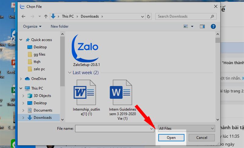 Hướng dẫn dùng Zalo PC dạy học online