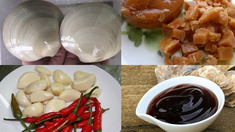 Nguyên liệu món ăn 4 cách làm sò bơ mỹ nướng