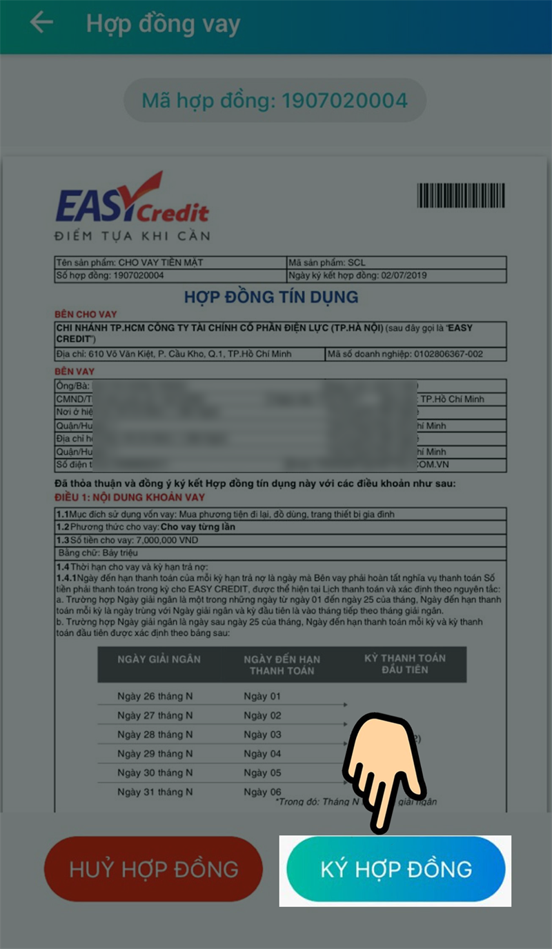 Cách vay tiền online trên ứng dụng ViettelPay nhanh, an toàn