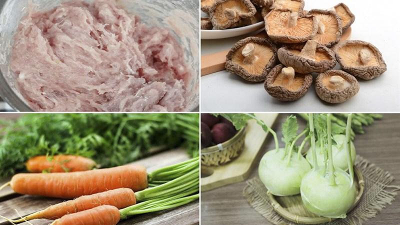 2 cách nấu canh mọc ngũ sắc và canh mọc hạt sen thơm ngon bổ dưỡng