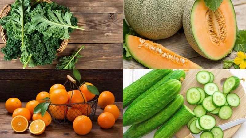 Nguyên liệu món ăn 3 cách làm sinh tố cải xoăn