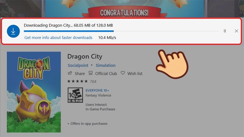 Cách tải Dragon City trên máy tính 4