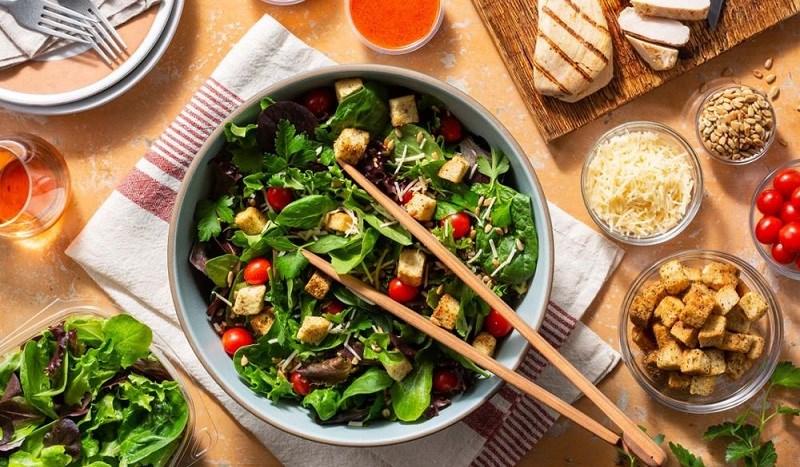 Phân loại salad theo mục đích sử dụng (4 loại)