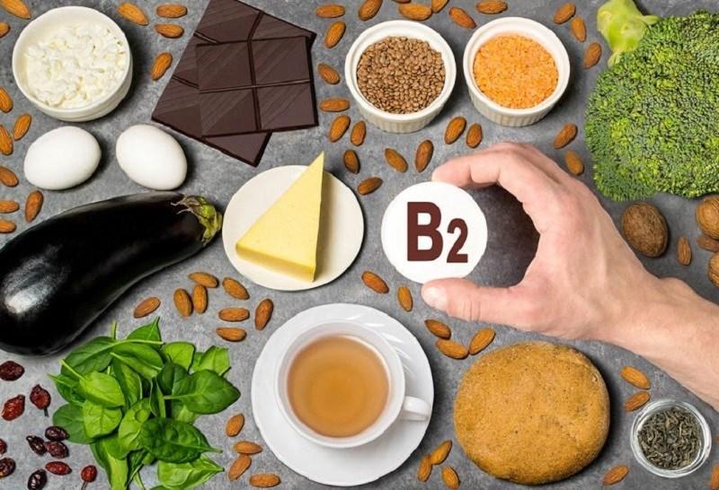 Các thực phẩm giàu vitamin B2