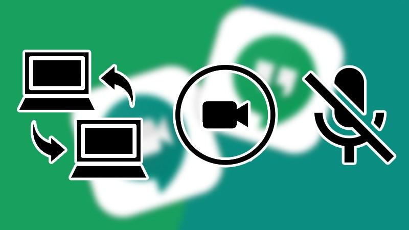 Cách chia sẻ màn hình, bật camera, mở micro trên Google Hangouts, Google Mee