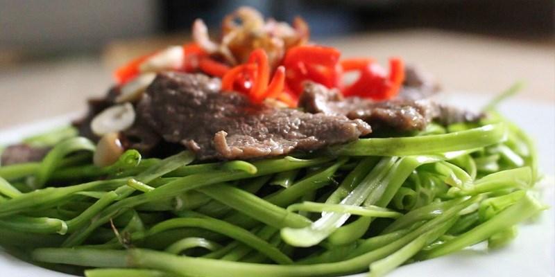 Giá trị dinh dưỡng có trong rau muống