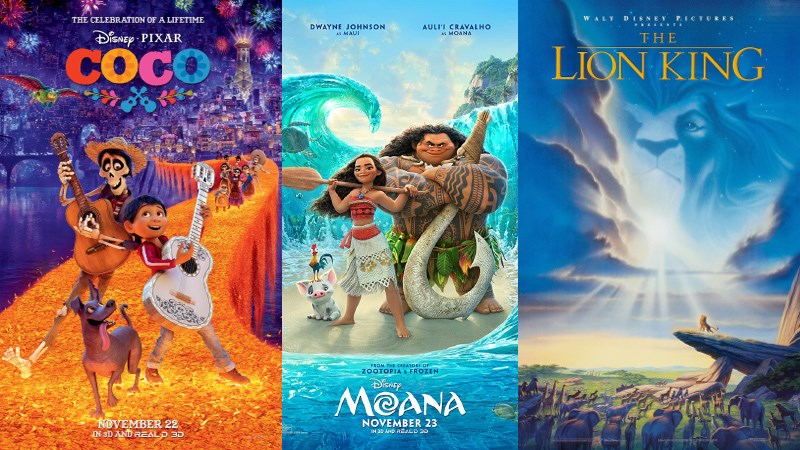 10 bộ phim hoạt hình chiếu rạp của Disney