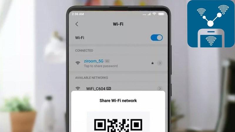 chia sẻ Wifi trên điện thoại Android