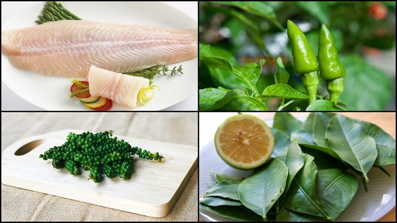 Nguyên liệu món ăn 2 món cá thu nướng