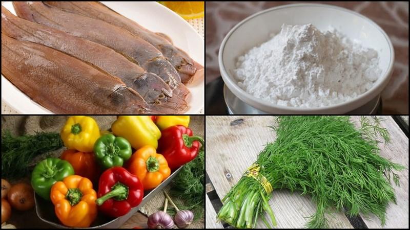 2 cách làm cá bơn (cá lưỡi trâu) chiên sả ớt và chiên giòn cực ngon