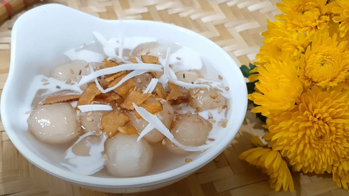Chè bột lọc nhân dừa