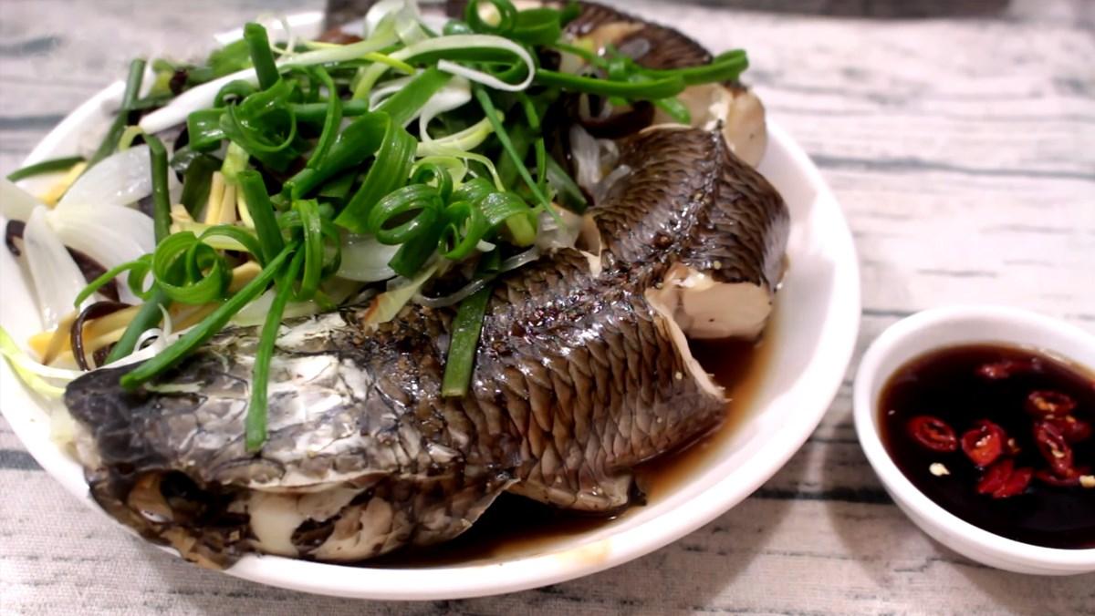 Cá lóc hấp hành và cá lóc hấp sả